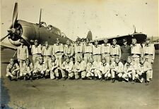 US Air Force Squadron Pilots United States World War 2 7x5 Inch Reprint Photo 56