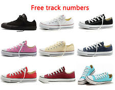 converse 3 4 shoes. new women lady all stars chuck taylor ox low top shoes canvas sneakers converse 3 4 o
