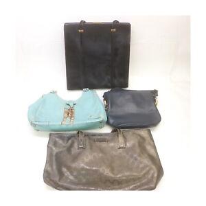 Gucci Leather Unborn Calf PVC Shoulder/Hand Bag 4 pieces set 525425