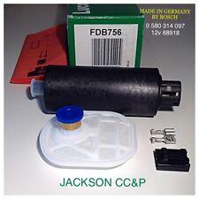 Lucas FDB756 Bosch 0 580 314 097 bomba de combustible Opel GM 815037/815039/9120218