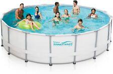 Summer Waves 16' Elite Frame Pool w/ Filter Pump, Cover, w/ Ladder