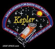KEPLER SPACE TELESCOPE - NASA'S SEARCH FOR EARTH SIZE PLANETS - JPL NASA PATCH