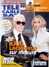 Mag TELE CABLE 2009: KARL LAGERFELD_PRISCILLA BETTI_CATHERINE FROT_ELIZA DUSHKU