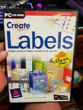 Create Your Own Labels - PC CD ROM - FREE POST *