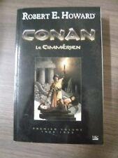 Livre grand format: Conan le Cimmérien V.1 - de Robert E. Howard - Très Bon état