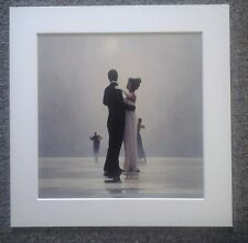 "JACK VETTRIANO""DANCE ME TO THE END OF LOVE"" MOUNTED ART PRINT SQUARE MOUNT"