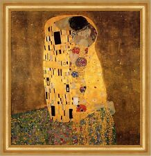 Le bisou d'or période JUNGENDSTIL géométrie papeteries Gustav Klimt a3 011