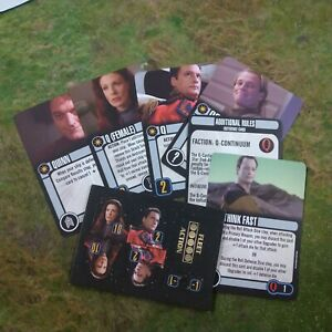 Star Trek Attack Wing Q - CONTINUUM Card Pack OP Grand Prize NEW