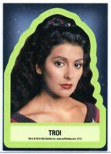 Star Trek Inflexions (2019) THROWBACK STICKER Trading Card Insert S15 / TROI