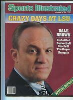 Sports Illustrated Nov 18,1985 Crazy Days At LSU Dale Brown    MBX27