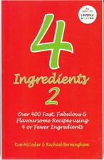 4 INGREDIENTS 2 COOKBOOK - McCOSKER & BERMINGHAM QUICK EASY RECIPES FAST FREE PO