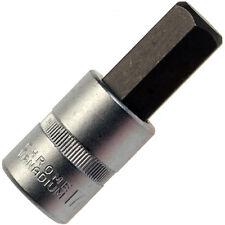 16 mm Innensechskant Steckschlüssel-Einsatz Schraubendreher-Einsatz 1/2 CV Stahl