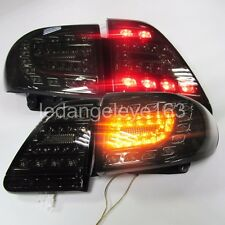 For TOYOTA Corolla Altis LED Tail lights Lamps 2011 to 2013 year Smoked Black YZ