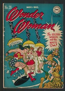 DC Comics Wonder woman 26  1948 VG+ 4.5 Golden age