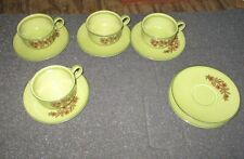 TS & T, Bonnie Green, Rooster, Designer Series,Cups & Saucers