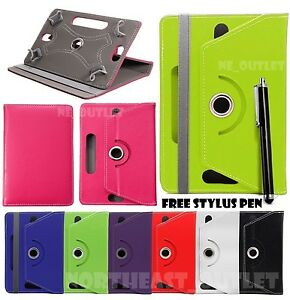 """360° Rotating Case Cover Fits 8"""" Inch HUAWEI MEDIAPAD T1 and T1 PRO 8.0 Tablet"""