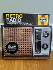 Haynes, Retro Radio. Build Your Own Working FM Radio