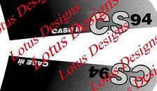 CASE IH cs94 Decalcomania / Adesivi Set