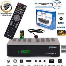 Sat Receiver 4k PVR Ready mit Aufnahmefunktion IZYBOX DVB-S2 DVB-C Kabel HDMI