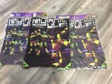 Job Lot Of Nickelodeon Ninja Turtles PE / SHOE Bags X 3