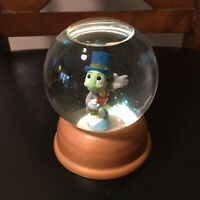 The First Limited Edition Walt Disney Rare Crystal Snow Globe Jiminy Cricket