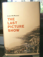 The Last Picture Show by Larry McMurtry (1966) HC.DJ.1st. Inserted Signed Page