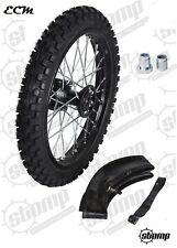 """14"""" Inch Front SDG Pit Bike Wheel & Tyre (Includes Spacers) Stomp wpb Demon X"""