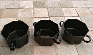 arcoroc octime schwarz, 3 Suppentassen