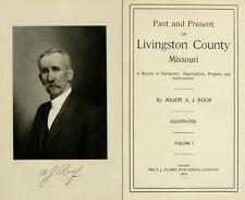 1913 LIVINGSTON County Missouri MO, History and Genealogy Ancestry DVD B23