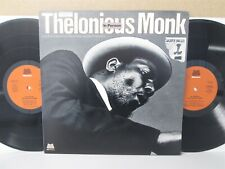 THELONIOUS MONK: In Person Live Jazz from New York/San Francisco 2-LP (Vinyl EX)