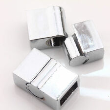 5Sets Silver Plated Strong Magnetic Clasps Hooks Finding Connector For Bracelet