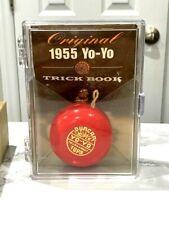 DUNCAN 1955 REPRODUCTION TOURNAMENT YO YO WITH 1950 TRICK BOOK ~ Yo-Yo
