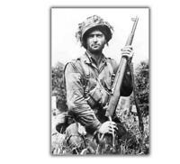 "World War Photo US soldier WW2 Glossy Size ""4 x 6"" inch V"