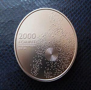 HUNGARY / 2000 FORINT - NOBEL PRIZE - HEVESY / 2018 BU - UNC