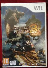 MONSTER HUNTER 3 TRI Nintendo WII PAL FRANCAIS ++ 100% NEUF ++ CAPCOM