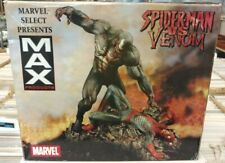 ZOMBIES SPIDER-MAN vs VENOM STATUE Max Diamond Select MARVEL Figure Comic book