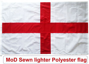 Traditionally sewn St George flag england MoD approved knitted polyester UK