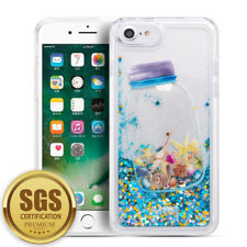 Luxury Shock Proof Seashells Sparkle Waterfall Case Cover For iPhone7Plus 8 Plus