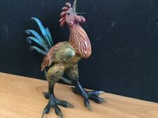 """Tim Cotterill Frogman Bronze Rooster Chicken """"Wake Up Call"""" RARE 150/5000"""