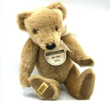 Merrythought Hamleys Teddy Bear Exclusive LE 1000 Big 16in Mohair Plush ID Tags