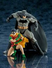 KotoBukiya DC Comics Batman & Robin Two-Pack Artfx+ Statue Action Figure NEW