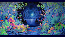 """Psychedelic Trippy Art poster 24"""" x 42"""" Wall poster l23"""