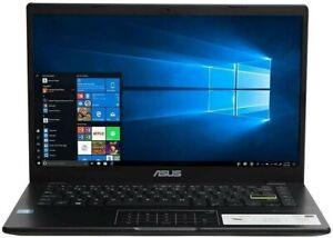 "ASUS E410 Laptop, 14"" Intel Pentium Silver, 4GB Memory, 128GB eMMC, Windows 10"