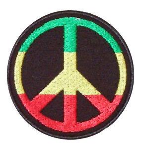 "Patch Aufnäher Aufbügler ""  PEACE FRIEDEN """