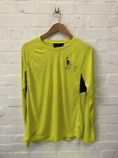 Asics Men's Running Top New York Marathon Short Sleeve T-Shirt - Yellow - New