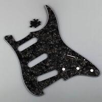 TIGERS EYE OR WHITE PEARL CAP SKIRTED METAL KNOB FOR FENDER STRAT CR//BK//GD