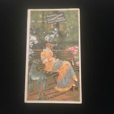 Antique Boschees German Syrup Coughs Colds & Consumption Victorian Trading Card