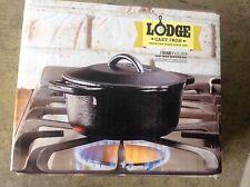 Lodge Logic Dutch Oven 1 Qt. Cast Iron Pre-Seasoned