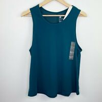 All in Motion Target Teal Blue Active Workout Tank Top Women's Size Medium M