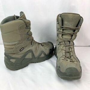 Lowa Zephyr GTX Mid TF Mens 9.5 Tactical Gore-Tex Walking Boots Grey 310532
